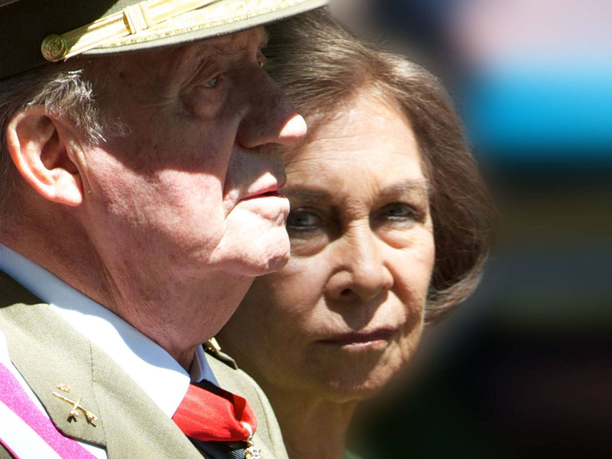 Foto: La reina Sofía y el rey Juan Carlos, en una imagen de archivo. (Getty)