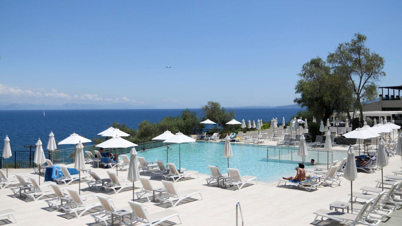 Un hotel en Corfú (Reuters)