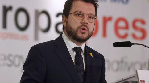 Aragonès pide diálogo en Madrid y alerta de que una gran coalición ampliará el conflicto