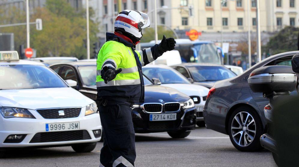 Foto: Agente de Policía de Tráfico (Efe)