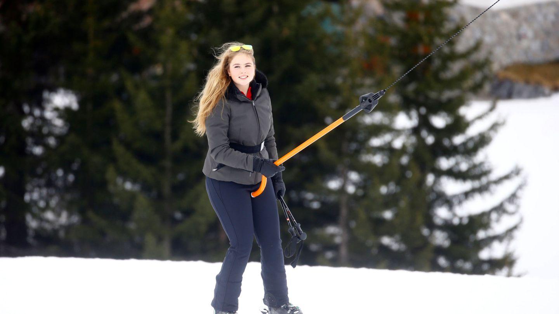 La princesa Amalia, el pasado febrero. (Reuters)