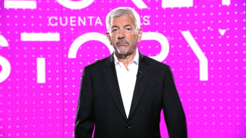 Carlos Sobera, presentador de 'Secret Story: la cuenta atrás'. (Mediaset)