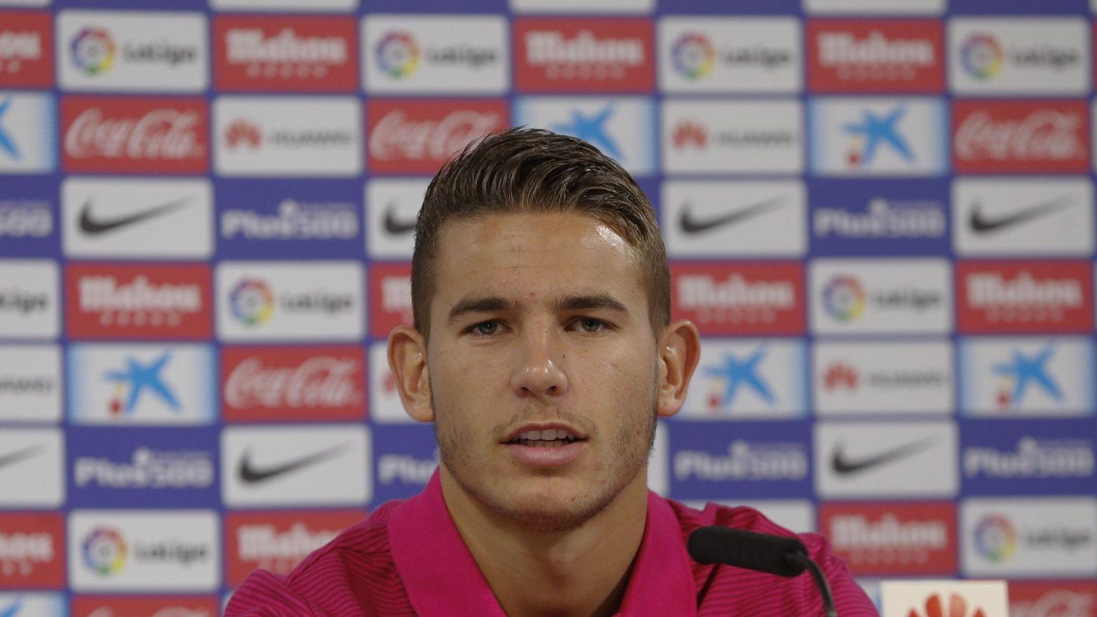 Foto: Lucas Hernández prorrogó su contrato con el Atlético de Madrid hasta 2022. (EFE)