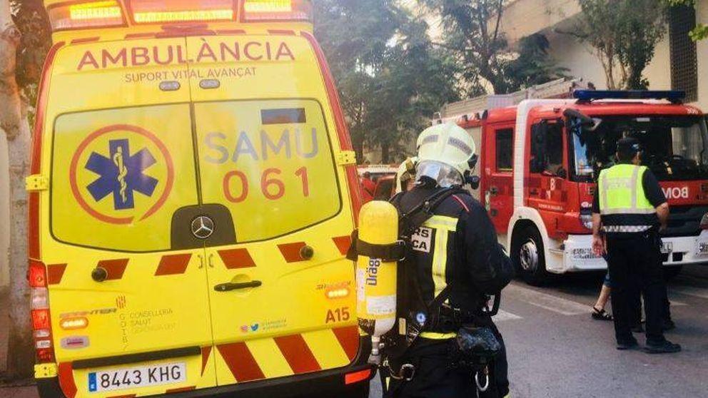Muere un motorista tras quedar atrapado debajo de un autobús de la EMT en Palma