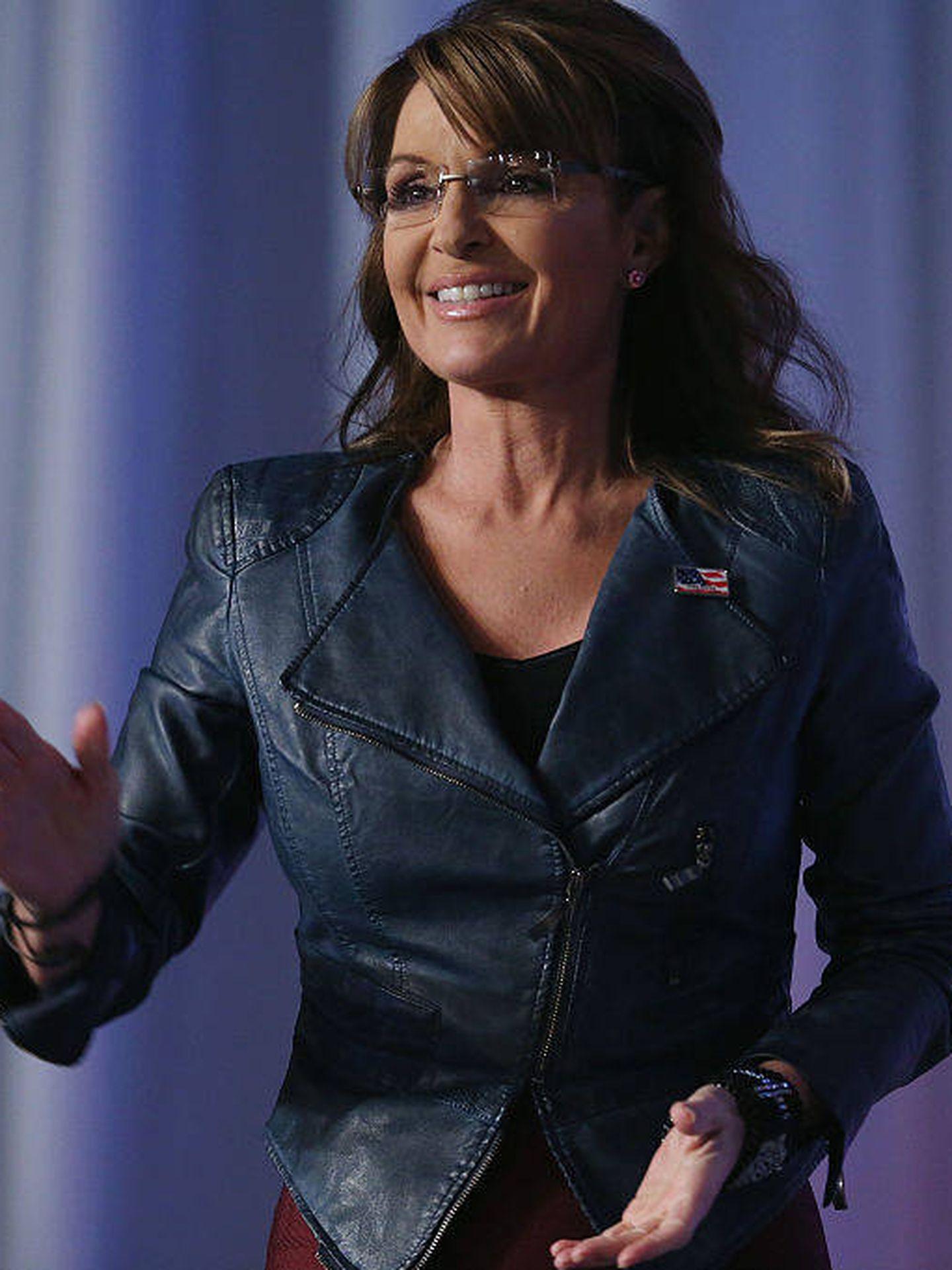 Sarah Palin, en una imagen de archivo. (Getty)