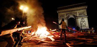 Post de Macron utiliza el fantasma de la ultraderecha para frenar la protesta social