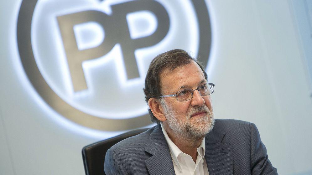 Foto: El presidente del Gobierno en funciones y del PP, Mariano Rajoy, durante la reunión del Comité de Dirección del partido. (EFE)