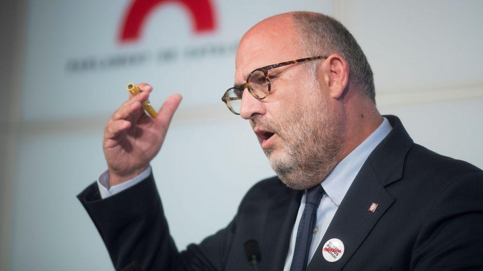 Foto: El portavoz adjunto de Junts per Catalunya, Eduard Pujol. (EFE)