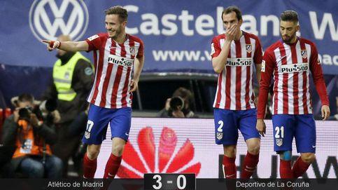 Griezmann y Saúl comandan la resistencia del Atlético de Madrid