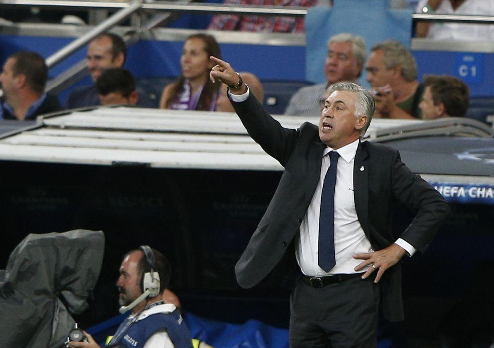 Foto: Ancelotti cree que el Madrid luchará por todos los títulos
