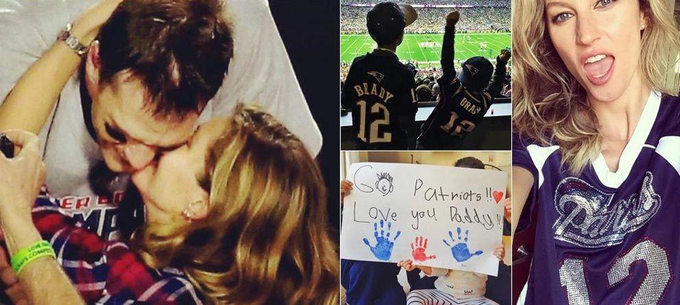 Gisele Bündchen felicita a papá (Tom Brady) por su victoria en la Super Bowl