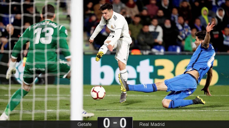 Foto: Brahim fue titular en el Getafe-Real Madrid. (Reuters)