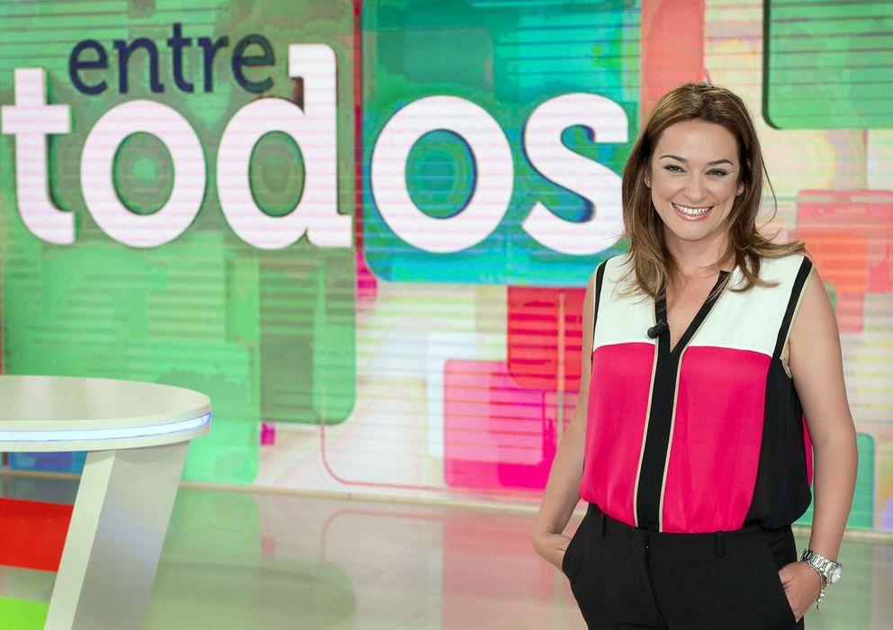 Foto: La presentadora de 'Entre todos', Toñi Moreno. (EFE)