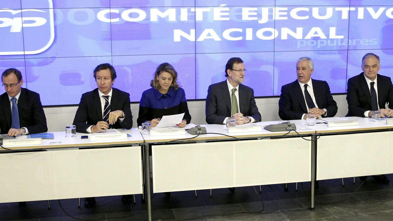 Reunión del Comité Ejecutivo Nacional del PP (Efe)