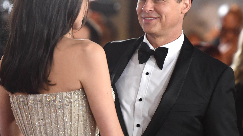 Con Brad Pitt. (Getty)