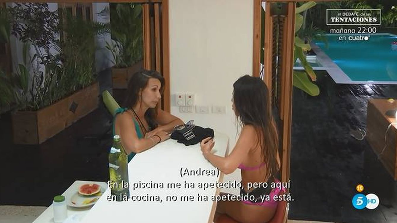 La puñalada de Andrea a Fani en 'La isla de las tentaciones': Eres una persona tóxica