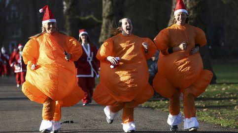 Carrera navideña en Londres