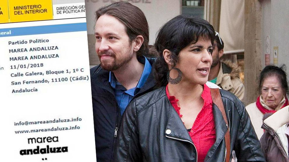 Teresa Rodríguez registra Marea Andaluza para ir con IU e ignora la orden de Iglesias