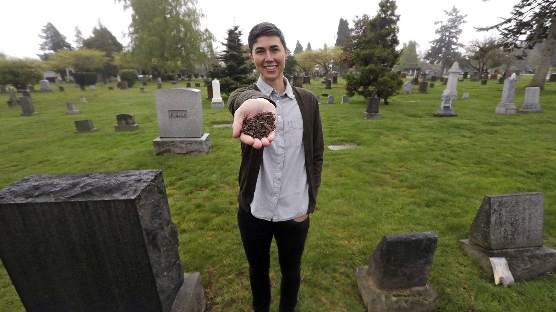 ¿Quieres convertirte en abono después de morir? Una empresa ya ofrece este servicio