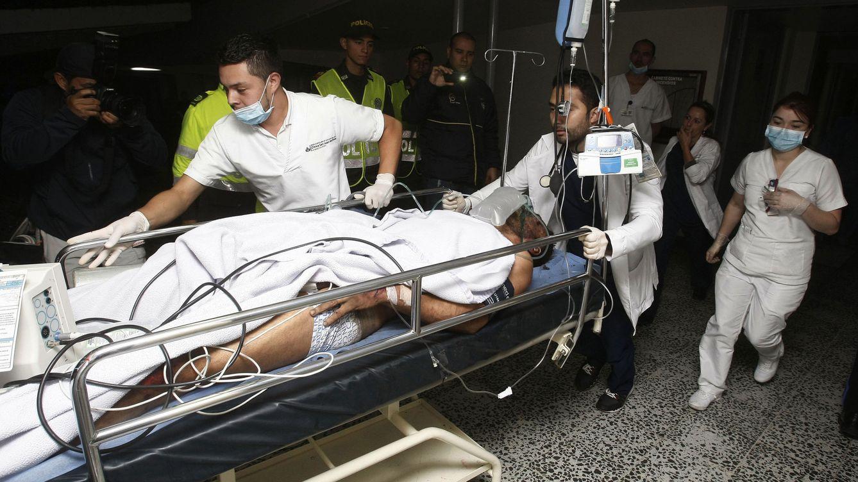 Foto: El futbolista Alan Ruschel, primer superviviente del siniestro de Chapecoense.