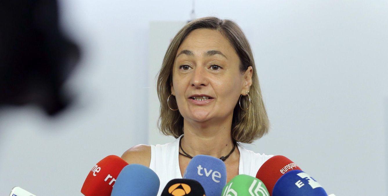 Luz Rodríguez, secretaria de Empleo del PSOE, el pasado 26 de julio. (EFE)