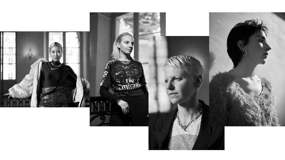 Foto: Ahn, Kocher, Magee y Serre. (Nike)