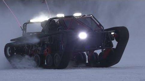 El 'tanque deportivo' que permite conducir a toda velocidad por cualquier superficie