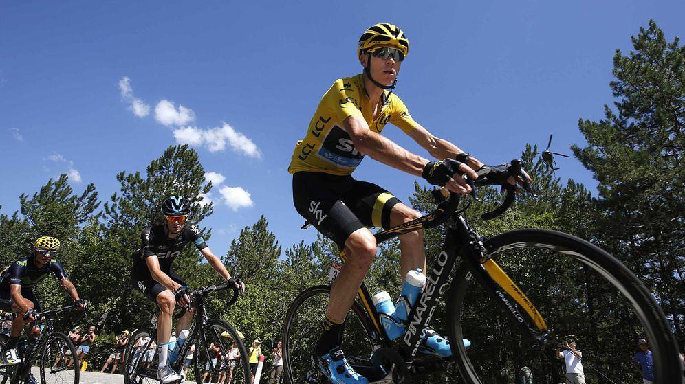Foto: Froome va camino de ganar su segundo Tour de Francia (Reuters)