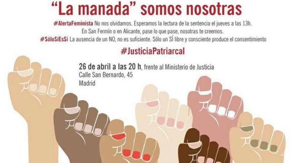 Foto: Manifestación contra la sentencia de La Manada