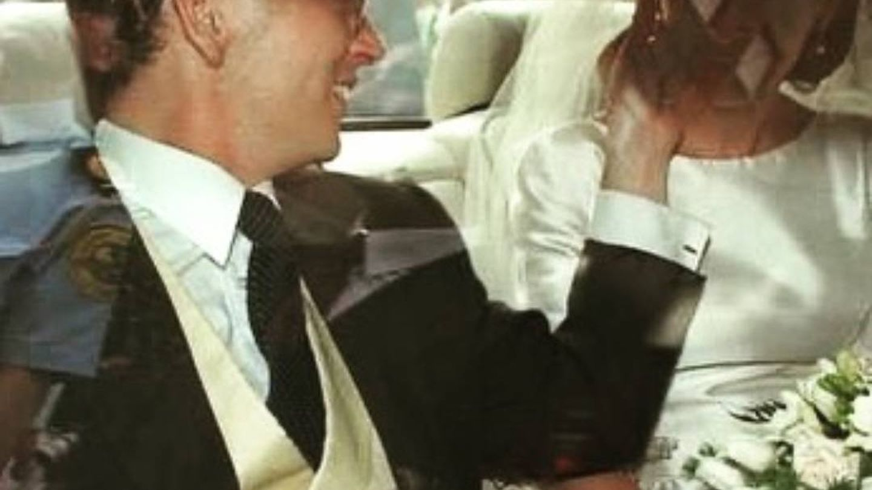 Miriam, el día de su boda. (Cortesía)