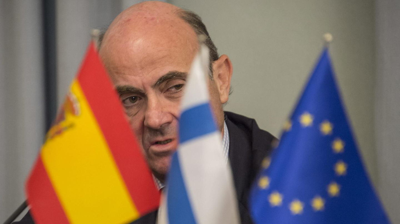 El ministro de Economía y Competitividad español, Luis de Guindos. (EFE)