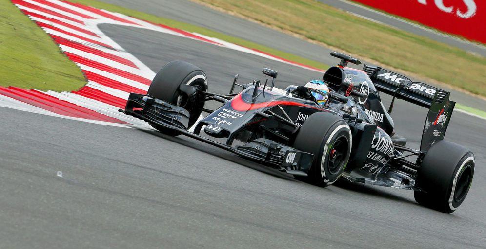 Foto: Los McLaren están haciendo una nefasta temporada por el momento (EFE)