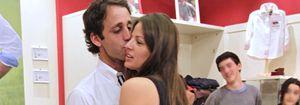 Foto: La novia de Muñoz Escassi le da calabazas en público