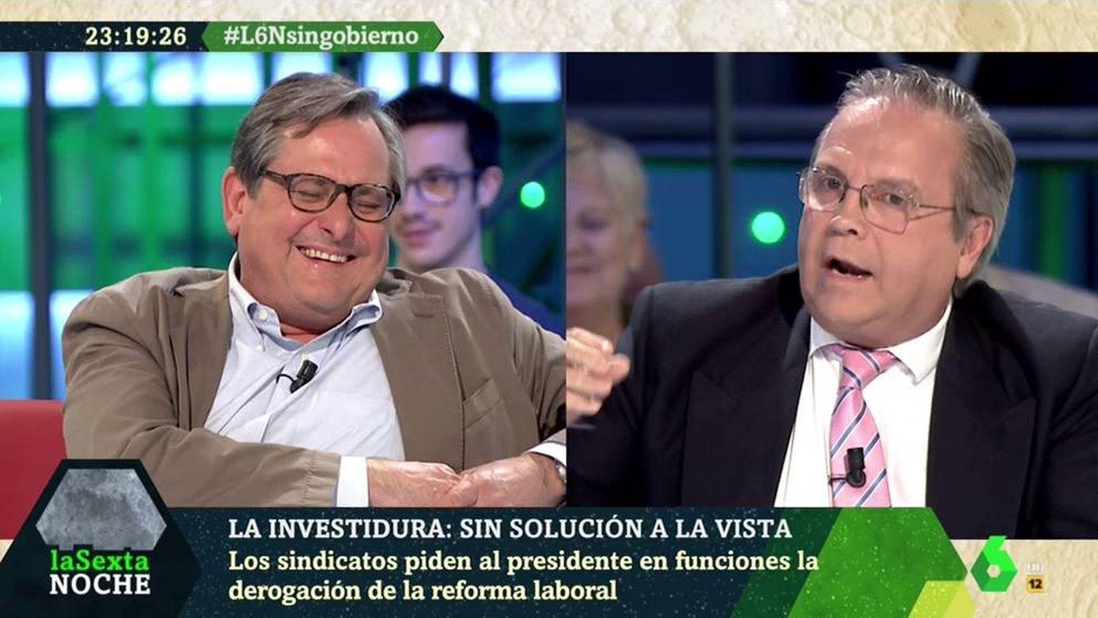 Foto: Francisco Marhuenda y Carmona, en 'La Sexta noche'. (Atresmedia).