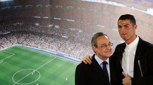 Cristiano, más chulo que un ocho, también le mete un gol a Florentino