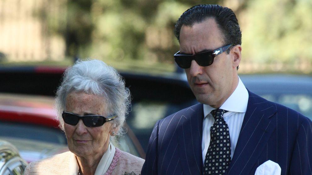La madre de Jaime de Marichalar se recupera de un ictus en La Paz