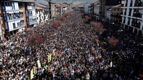Miles de soberanistas vascos y catalanes marchan en Alsasua: Esto no es justicia