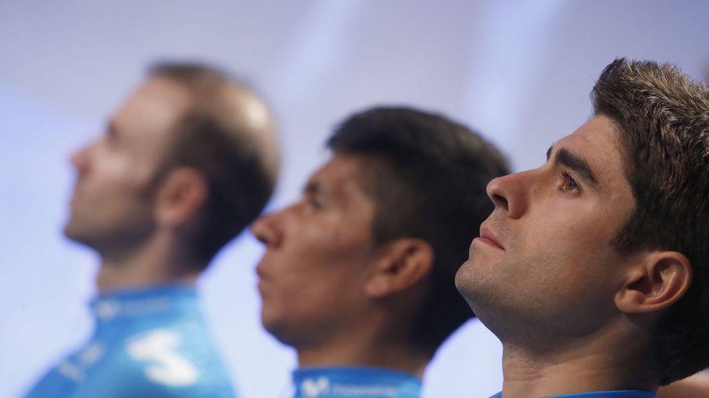 Foto: De izquierda a derecha, Valverde, Quintana y Landa. (EFE)