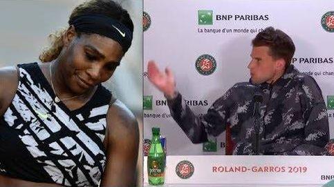 Serena Williams obliga a que echen Dominic Thiem de la sala de prensa tras perder