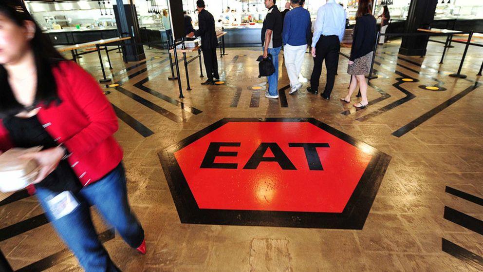 La comida gratis en Silicon Valley, un 'win-win' de trabajador y patrón