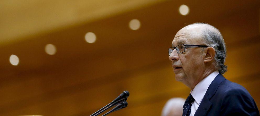 Foto: El ministro de Hacienda y Administraciones Públicas, Cristóbal Montoro (EFE)