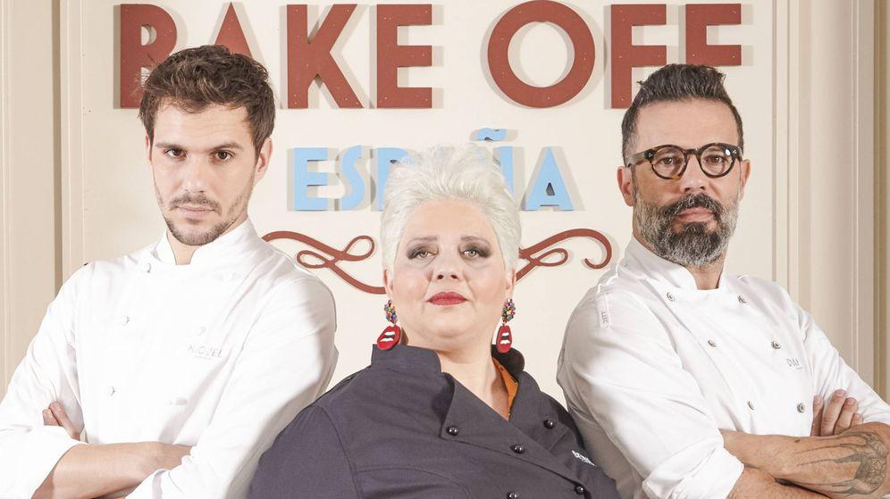Foto: El jurado de 'Bake Off España'. (Cuatro)