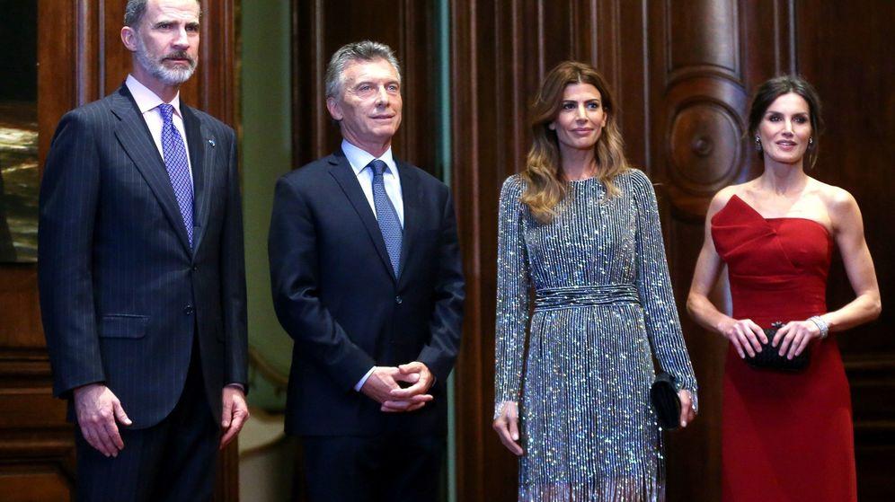 Foto: Recepción ofrecida por los Reyes en Buenos Aires. (EFE)