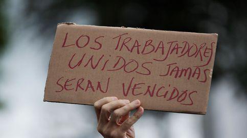 Los trabajadores del Canal de Panamá protestan por su sueldo