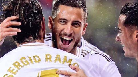 Eden Hazard, el galáctico del Real Madrid en el silencio del estadio Alfredo Di Stéfano