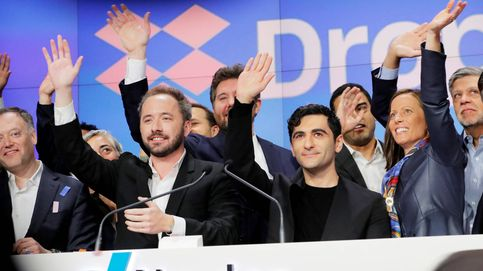 Dropbox se dispara un 36% en su debut en Wall Street