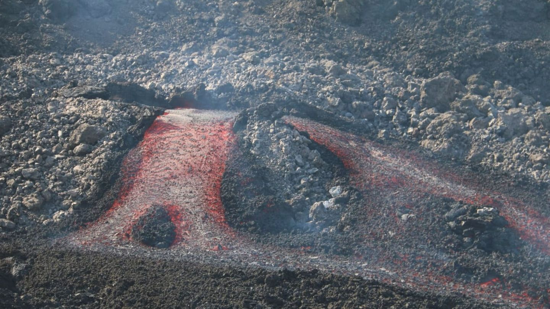 Las coladas de lava han modificado el paisaje para siempre. (EFE)