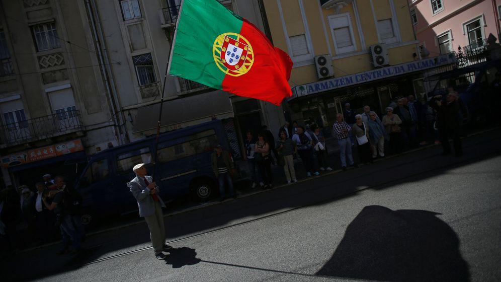 Foto: La bandera de Portugal. (Reuters)