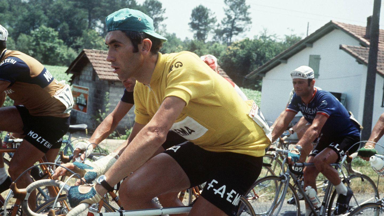 Eddy Merckx en acción en el Tour de Francia de 1969