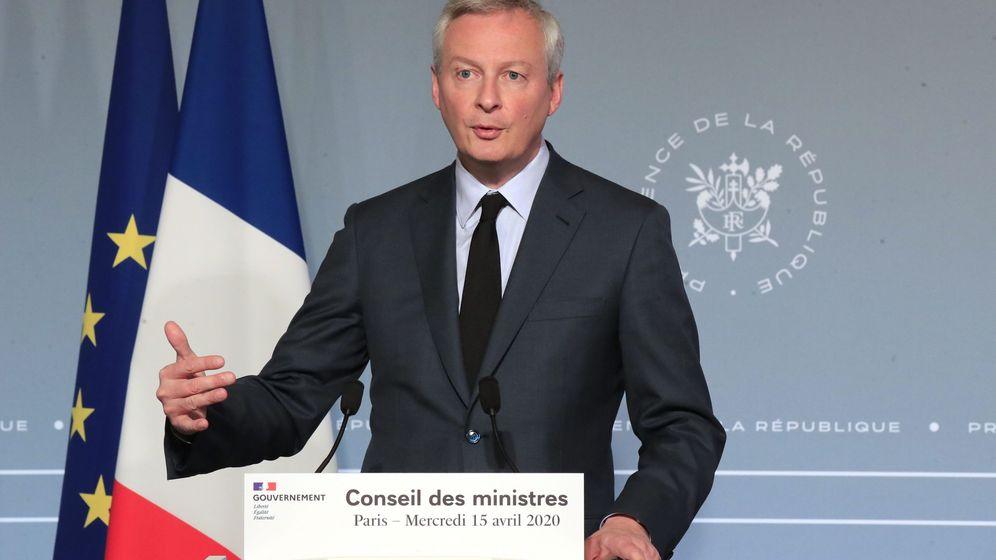 Foto: El ministro de Finanzas, Bruno Le Maire. (EFE)
